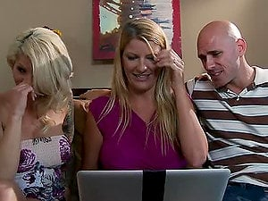 Cum-Thirsty Blonde Mummy Brooke Haven Getting Banged Hard