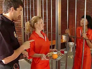 Exotic Inmate Evanni Solei Gets an Ass-fuck Fuck from the Guard in Jail
