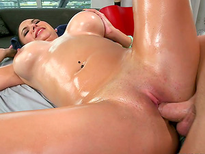 Missy Martinez gets her snatch massaged, munched and fucked hard