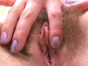 Marci Mark has a Big Hairy Pubic hair! Nice Closeup Hairy Labia Getting Fucked!