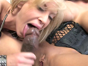 Two promiscuous Milky chicks get banged by Black fellow