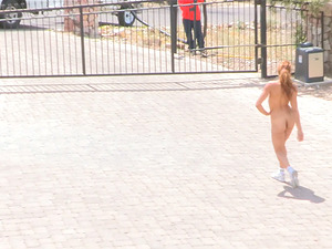 Smoking hot and sporty chick Valentina gets naked