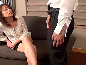 Hot Japanese Pornographic star Gives Amazing Blowage And Makes Her Paramour Horny