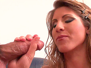 Her fine labia is leaking by every stir of his man sausage in it