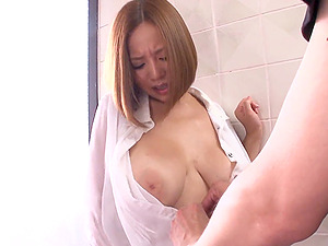 Sexy Asian With  Big Natural Tits Gives A Hot Tit Fuck