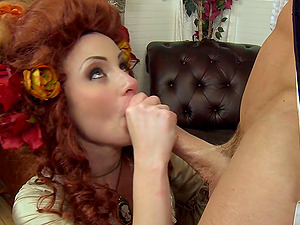 Beautiful Woman With A Hot Culo Munching And Sucking Her Bf's Thick Man rod