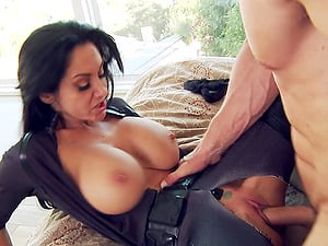 Pretty Youthfull Maid With Massive Faux Tits Luving A Missionary Style Fuck