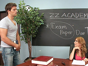 Stunning Jock Bangs His Hot Donk School Lecturer Rectal Gonzo