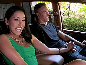 Fine gonzo scene with the beautiful Latina Kimberly Gates