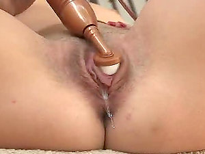 Sexy Summer is frolicking her yummy snatch with a hitachi