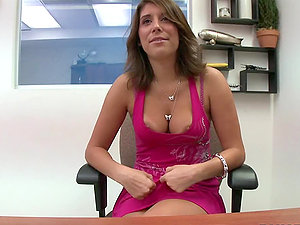 Sexy and Horny Cougar Miley Ann Deep-throats and Rails in Point of view Vid