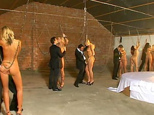 Assfuck cocksluts in Domination & submission four way getting Double penetration fucked after indignity