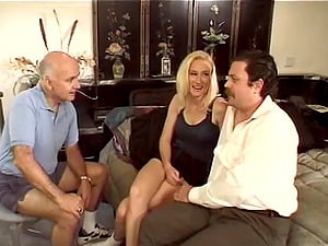Blonde Honey Gets Her Asshole Rammed While Her Cheating Hubby Witnesses