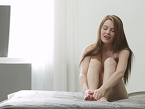 Foot worship Doll With Natural Tits Gets Drilled Missionary