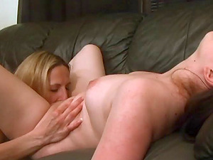 Lezzies Tonguing Hairless Cunts In Position 69
