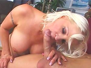 Blonde girls sucking cock