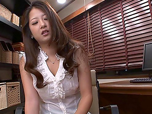 Striking Stunners With Big Tits In Miniskirt Gives Her Man Handjob