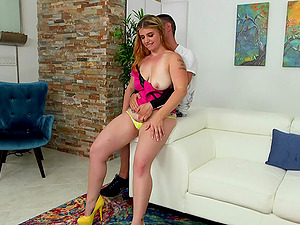 Tattooed Cougar With Smoothly-shaven Labia Gets Penetrated Hard-core