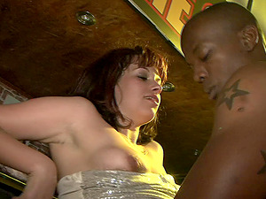 horny cowgirls with natural tits get nasty in club soiree