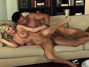 Angelic cowgirl with big tits in high stilettos bellowing while railing fat dick xxx