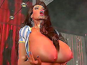 3D Honey Playing With Her Brilliant Bazookas