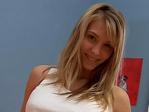 Fantastic blonde bbw