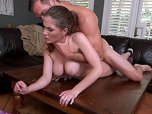 Hot donk cowgirl likes taking a stiff pecker deeper in her cunt
