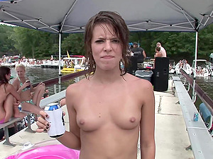 Exquisite fledgling cowgirl fingerblasting her twat in an outdoors soiree