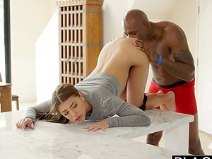 Gf Adriana Chechick Cheats With a Massive Black