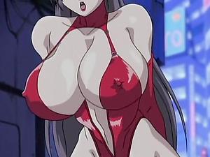 Big titted horny manga porn stunner