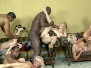Incredible interracial foray act with finest chicks