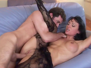 Will Victoria's asshole be able to treat the assfuck spooning?
