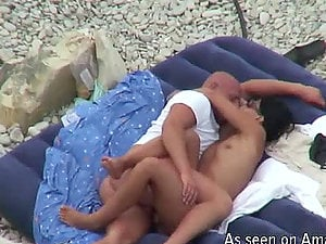 This duo were shot on the camera getting insatiable on the beach