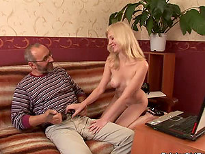 Sexy Liza getting fucked by her tricky lecturer after prepping for an check-up