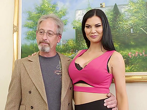 Sexy Step-Mom Jasmine Jae Cheats on Hubby with Step-Son