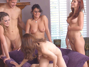 These kinky senoritas are fairly ready for the never-to-be-forgotten group hook-up