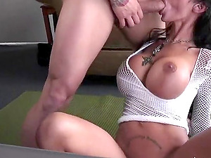 Angelina Valentine is a kinky brown-haired who covets a big dick