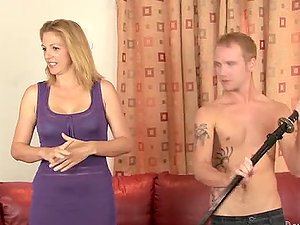 Roxanne Hall and Sierra Miller share one man on the sofa