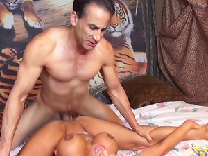 Ava Devine gets caught playing with a massive romp plaything