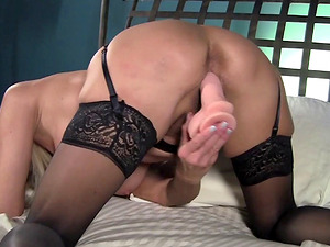 Erica Lauren is a mature blonde yearning to perceive a massive fake penis