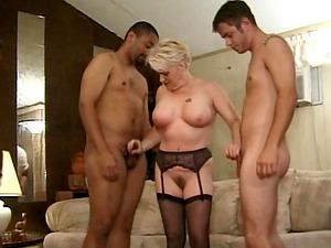 Huge dicks in action