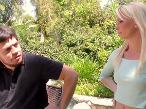 Blonde Country Teen Maddy Rose Gags
