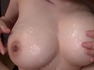 Yoshinaga Akane is a chick with nice tits attacked by a hunk