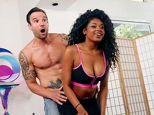 Ebony cuckold porn