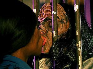 Kiki Minaj cannot get enough of a monster's big boner