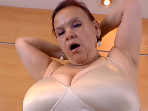 Great collection of busty latin matures filmed while playing with sex toys