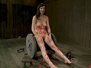 Gorgeous Honey Gets Tied With Forceps And Taunted