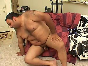 Haley Paige seduced by a fat fellow for a nasty plowing session