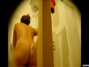 Big ass of my wife on hidden camera