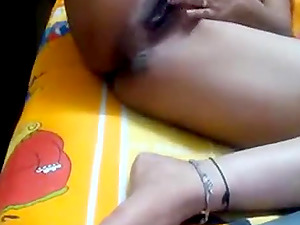 Sexy Slim Horny Indian Teen Fingering Herself For Pleasure